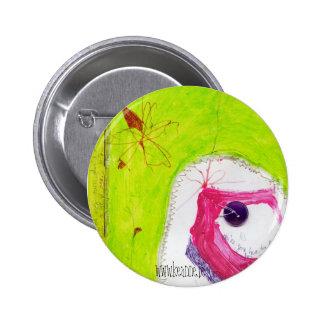 little girl shoe-button pinback button