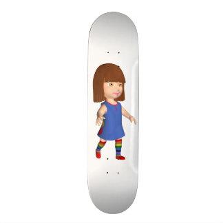 Little Girl Skate Board