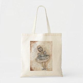 Little girl Skeleton Tote Bag