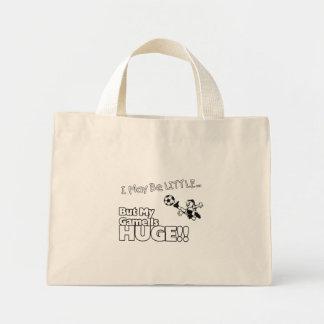 Little girl SOCCER Mini Tote Bag