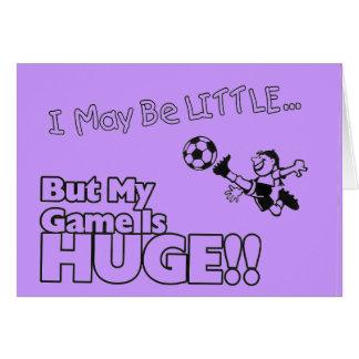 Little girl SOCCER Stationery Note Card