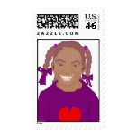 Little Girl Stamp
