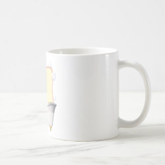 Little girl taking a bath coffee mug