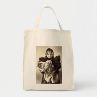 Little Girl with Her Doll, 1898 Canvas Bags