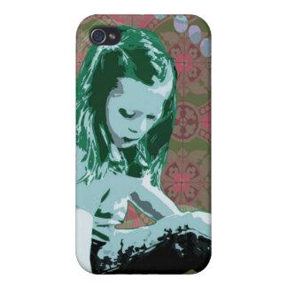 Little Girl Wonderland - Pop Art Case for iPhone 4