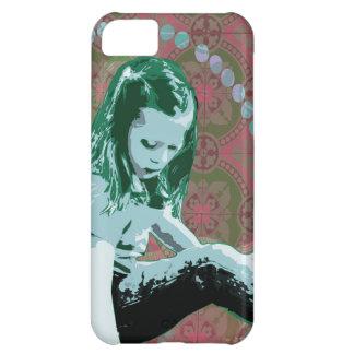Little Girl Wonderland Pop Art iPhone Slider Case Cover For iPhone 5C