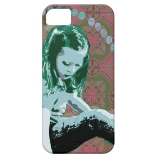 Little Girl Wonderland Pop Art iPhone Slider Case iPhone 5 Cover