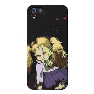 Little Girl Zombie Cases For iPhone 5
