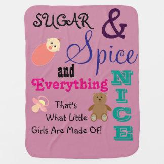 Little Girls Baby Blanket