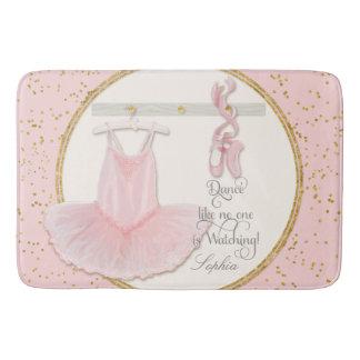 Little Girls Ballet Slipper Ballerina Tutu Dance Bathroom Mat