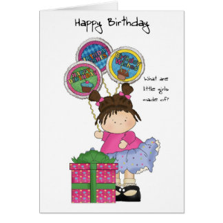 Little girls birtday cards