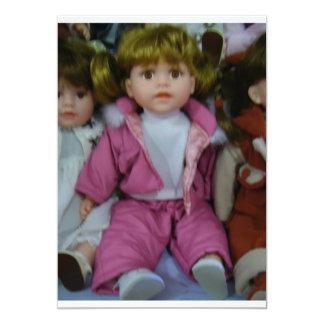 """LITTLE GIRL'S BIRTHDAY PARTY"" INVITATION"