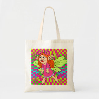 Little Girls Tote Bag Fairy Colorful Tote