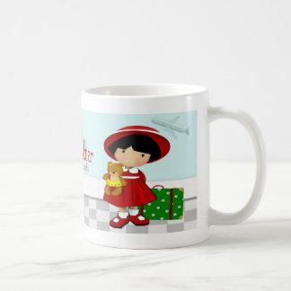 Little Globetrotter Classic White Coffee Mug