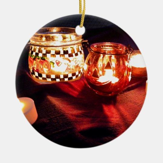 Little Glows II Ceramic Ornament
