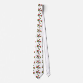 Little Gnome Girl With Flowers: Fantasy Art Tie