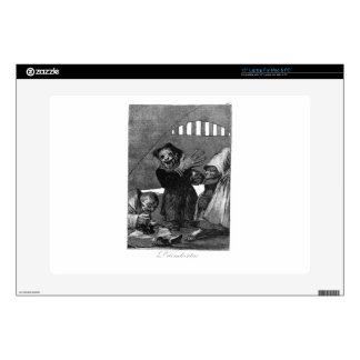 "Little goblins by Francisco Goya 15"" Laptop Decals"