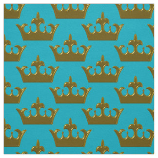 Little Gold Crown, Your Color-Fabric Fabric
