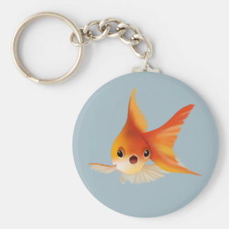 Little Goldfish Keychain