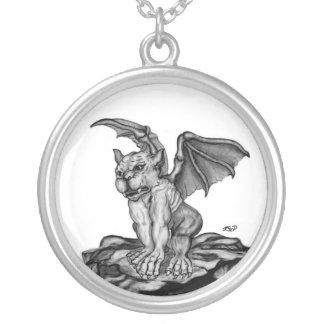 Little Golem - Gargoyle Collar Plateado
