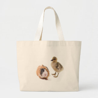 little goose and guinea pig canvas bags