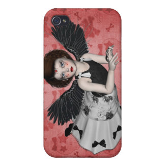 Little Goth Angel 4  iPhone 4 Covers