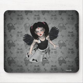 Little Goth Angel Mousepad
