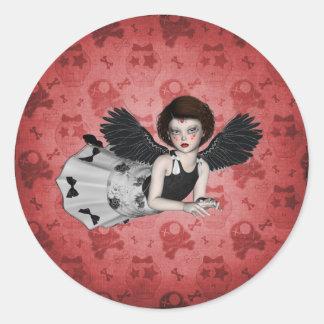 Little Goth Angel Sticker