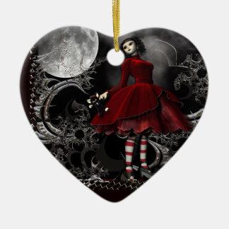 Little Goth Girl Keepsake Ornament