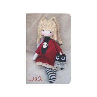 Little Gothic Doll with Monster Pocket Journal