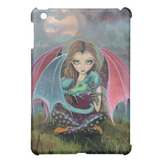 Little Gothic Fairy and Dragon Fantasy iPad Case
