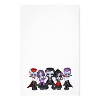 Little Gothic Gang Stationery