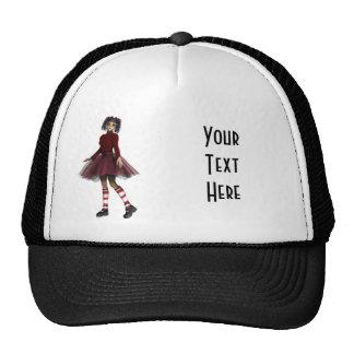 Little Gothy Girl Trucker Hat
