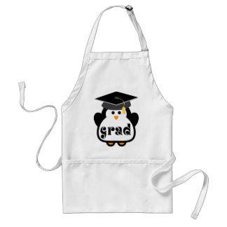 Little Grad Penguin Graduation Gift Adult Apron