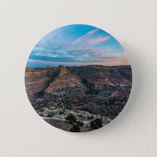 Little Grand Canyon Sunset - Wedge Overlook - Utah Button