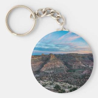 Little Grand Canyon Sunset - Wedge Overlook - Utah Keychain