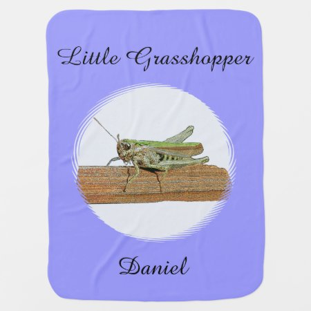 Little Grasshopper Baby Blanket