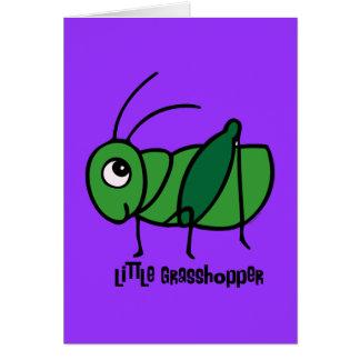 Little Grasshopper Greeting Card