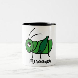 Little Grasshopper Two-Tone Coffee Mug