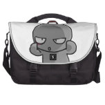 Little Gray Baby wry face Laptop Computer Bag