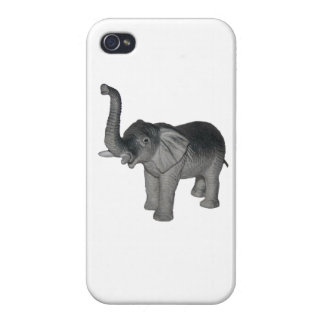 Little Gray Elephant iPhone 4 Covers