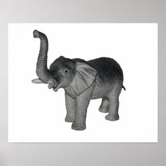 Little Gray Elephant Poster
