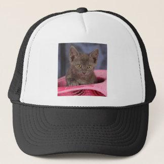 Little Gray Trucker Hat