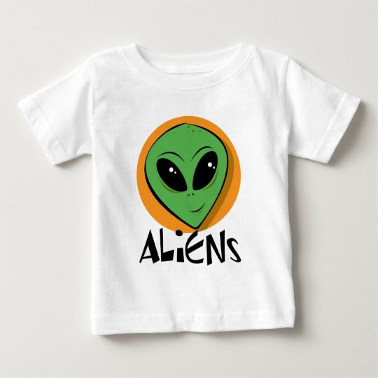 Little Green Alien Baby T-Shirt