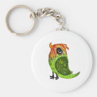 Little Green bird Keychain