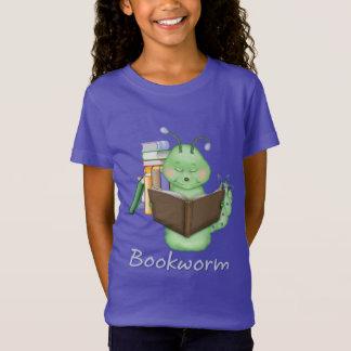 Little Green Bookworm T-Shirt