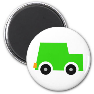 Little Green Car Magnet