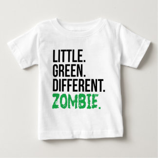 Little Green Different Zombie Baby T-Shirt