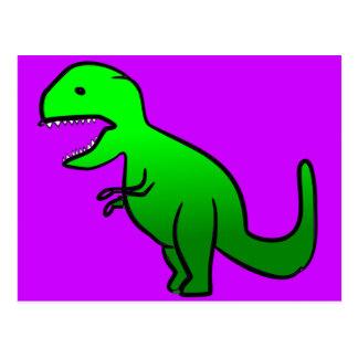 Little Green Dino Postcard