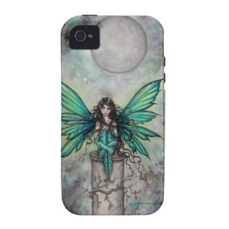 Little Green Fae Gothic Fairy Fantasy Art iPhone 4 Covers